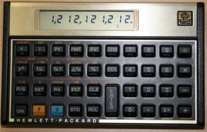 HP-12C Calculator